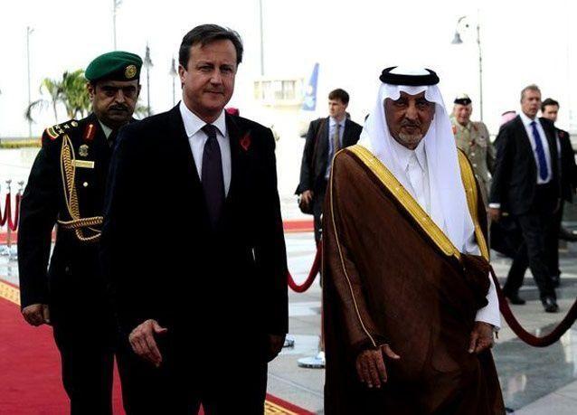 بالصور: رئيس الوزراء البريطاني كاميرون يزور السعودية