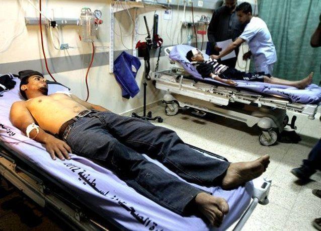 سيناء تعلن حالة الطوارئ الصحية لاستقبال مصابي غزة