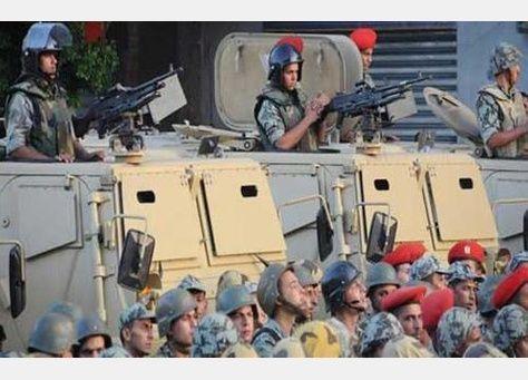 قتلي  باشتباك بين سكان وقوات الجيش في مصر