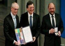 الاتحاد الأوروبي يتبرع بقيمة جائزة نوبل لأطفال الحروب