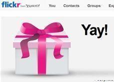 مجانا من ياهو: 3 أشهر في خدمة فليكر للمحترفين