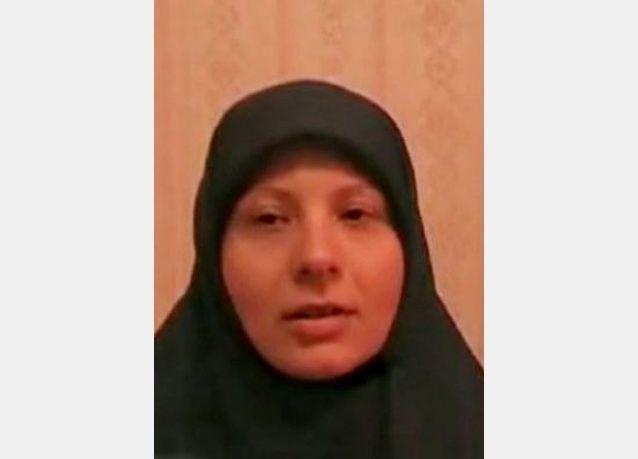 بالصور:  أمينة الكرواتية زوجة العولقي ترغب بالانتقام لزوجها