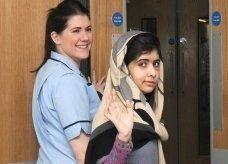 الباكستانية ملالا تغادر المستشفى في بريطانيا