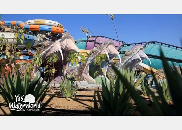صور حديقة ياس ووتروورلد أبوظبي