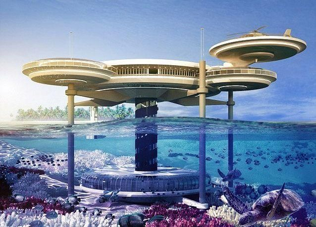 آخر عجائب دبي.. أكبر فندق تحت الماء بالصور