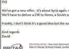 شركة بريطانية تكسب دعوى تشهير بسبب الكيماوي السوري وتوريط قطر بفبركة القضية