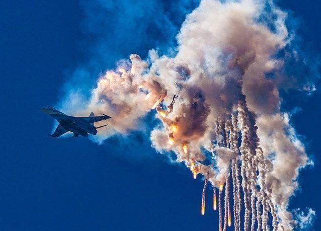 ملاك في سماء موسكو .. بالصور
