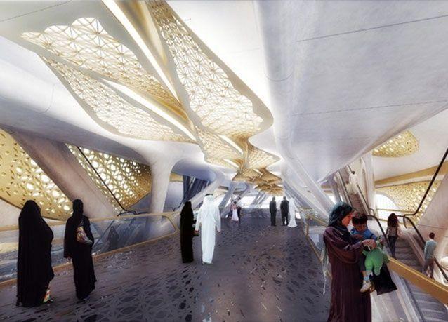 محطة مترو الرياض الأكثر فخامة .. بالصور