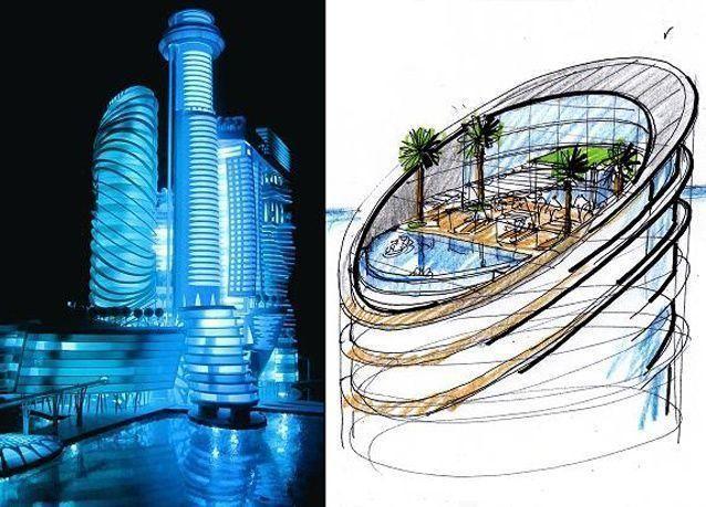 """الإمارات تخطط لبناء """"فندق الفضاء"""" المنعدم الجاذبية"""