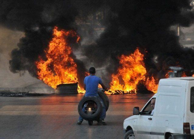 بالصور: الجيش اللبناني يتصدى للمسلحين المتطرفين في مدينة صيدا