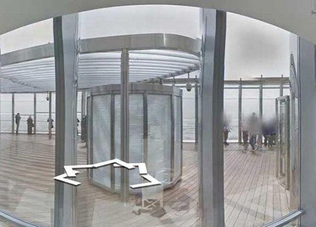 """بالصور: جوجل تطلق """"التجول الافتراضي"""" من أعلى برج خليفة"""