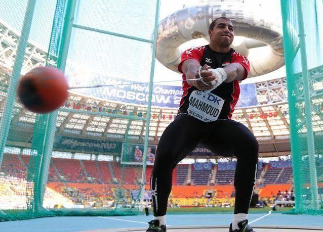 بالصور: مشاركون عرب في بطولة موسكو لألعاب القوى