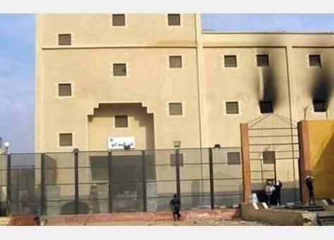 مقتل 38 من أنصار الاخوان المسلمين في سجن مصري