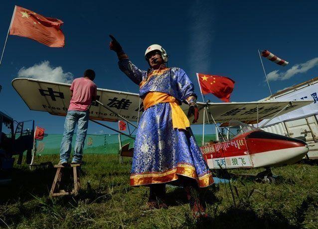 بالصور: في الصين، الطائرات صناعة منزلية للحلاقين والحرفيين!