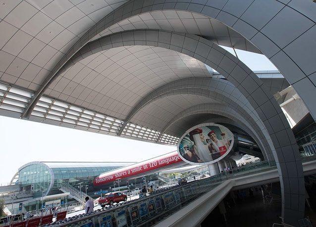 جولة مصورة داخل مطار دبي الدولي