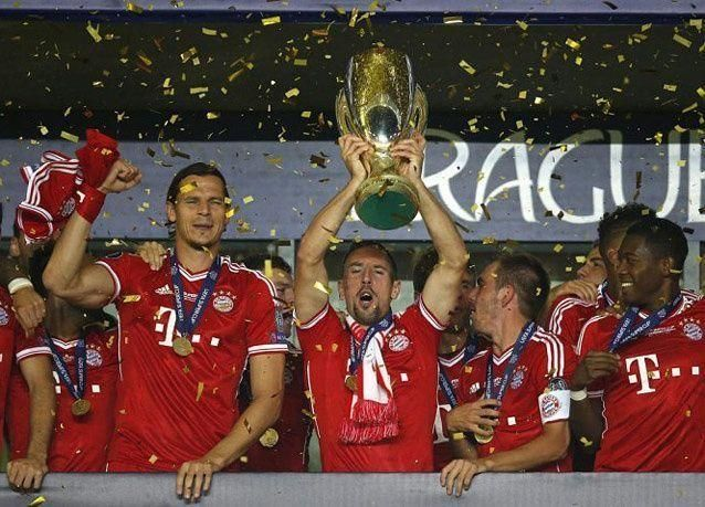 بالصور: بايرن ميونيخ يحل عقدة تشيلسي ويتوج بطل السوبر الأوروبي