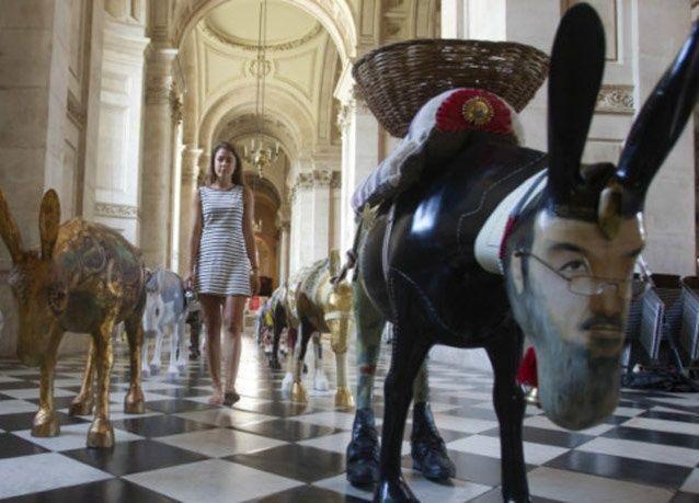 """بالصور: أعمال فنية من أجل """"التعايش بين الأديان"""" في مصر"""