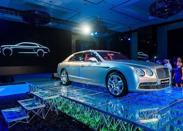 بالصور: بنتلي تطرح سيارتها فلاينغ سبر الجديدة في الشرق الأوسط