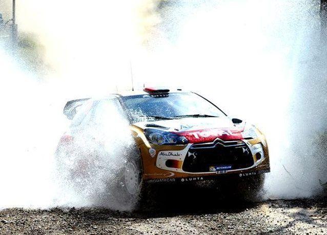 بالصور: أداء مميز للسائق الإماراتي خالد القاسمي في رالي أستراليا