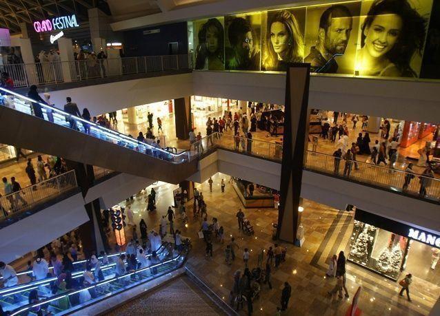100 مركز تسوق في دبي