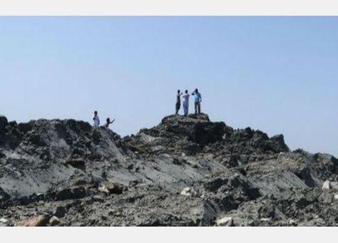 """""""قمر الثريا"""" يقيس حجم """"جزيرة الزلزال"""" التي ظهرت مؤخرا في باكستان"""