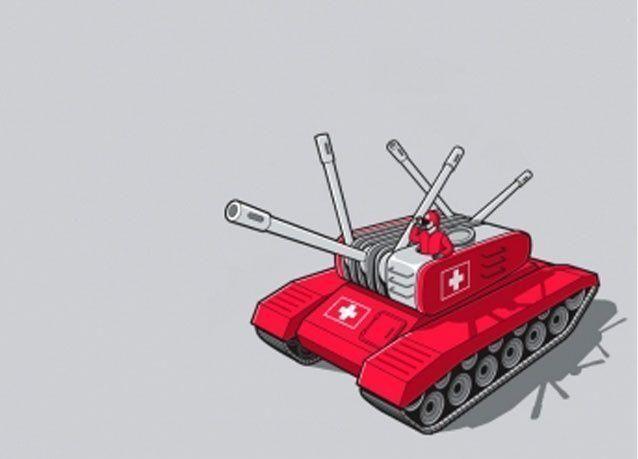 """سويسرا تصوت لصالح التجنيد وتدريبات لصد هجوم """"فرنسا المفلسة"""""""