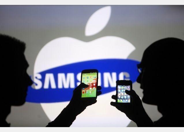 حكم ضد سامسونج بدفع 119.6 مليون لشركة أبل