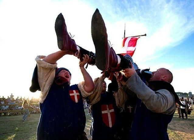 بالصور: إسبانيا تستضيف بطولة العالم لحروب العصور الوسطى