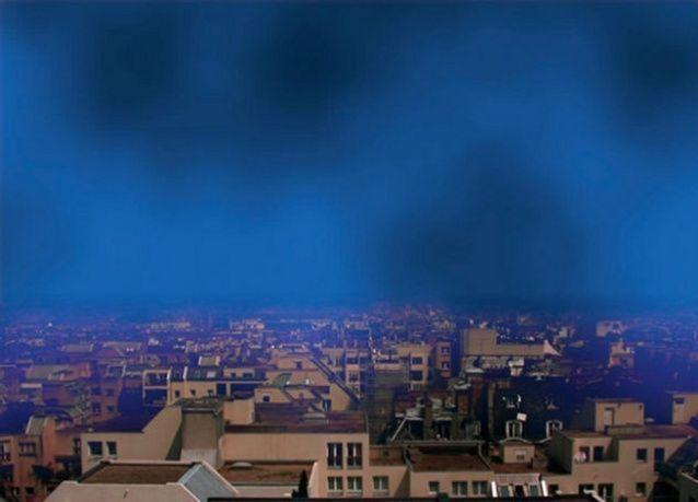 بالصور: فنانون يُعبِّرون بلوحاتهم عن الإحتباس الحراري