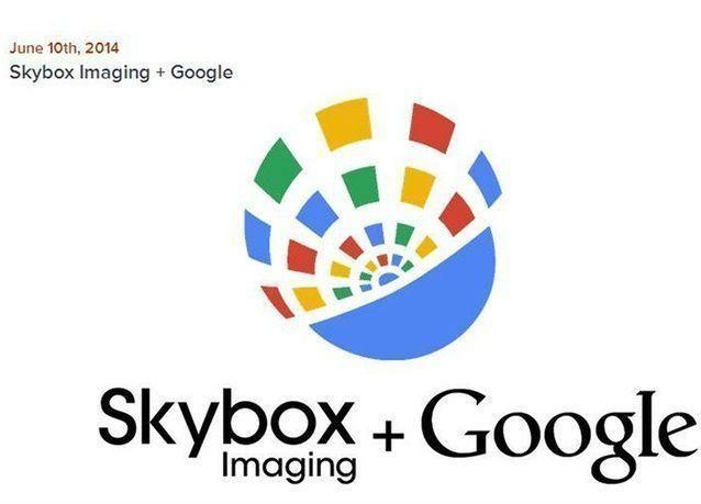 """غوغل تشتري شركة """"سكاي بوكس"""" للتصوير بالأقمار الصناعية"""