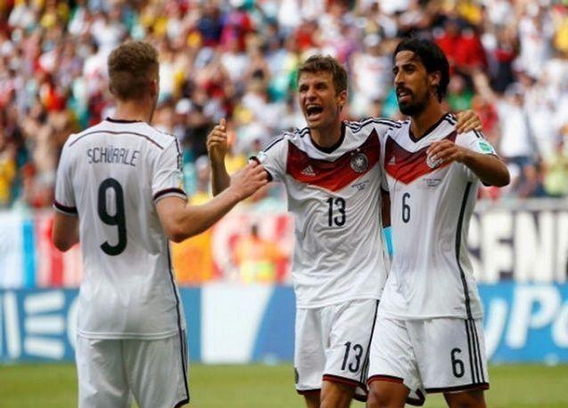 الألماني مولر يحقق أول هاتريك في نهائيات كأس العالم 2014