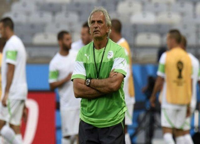 بلجيكا ضد الجزائر ضمن منافسات المجموعة الثامنة من كأس العالم 2014
