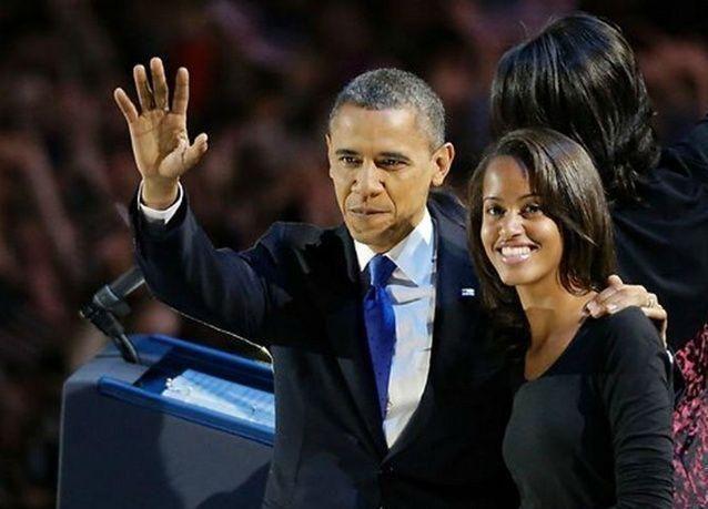 ابنة أوباما الكبرى عملت في الإخراج التلفزيوني لمدة يوم