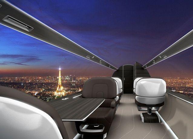 بالصور: طائرات بأسقف زجاجية قد تحدث إنقلابا في عالم الطيران