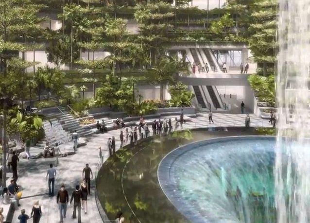 بالصور: الكشف عن تصميم مطار شانغي سنغافورة فهل سيكون الأفضل في العالم؟