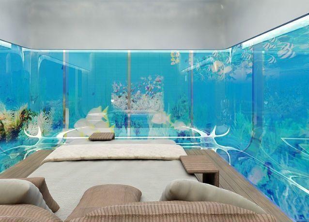دبي: طرح فلل سكنية تحت الماء للبيع