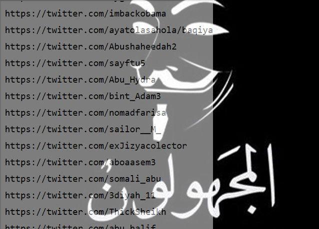 """""""أنونيموس"""" تنتقم من """"داعش"""" باختراق حساباتها على الإنترنت"""