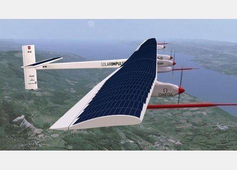 أول طائرة تعمل بالطاقة الشمسية قادرة على الطيران أثناء الليل