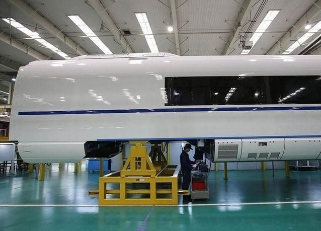 بالصور: مصنع القطارات فائقة السرعة في الصين