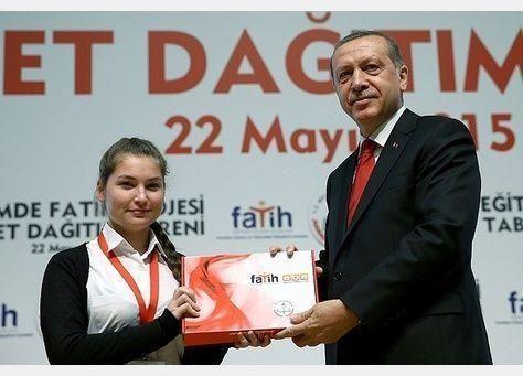 تركيا :انطلاق مشروع الفاتح بحاسب لوحي لكل طالب ومعلم مجانا