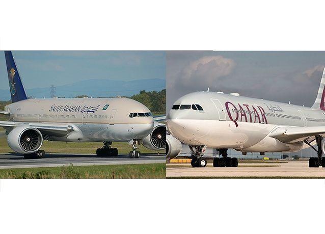 مارثون قطري سعودي لشراء طائرات بـ 13 مليار دولار