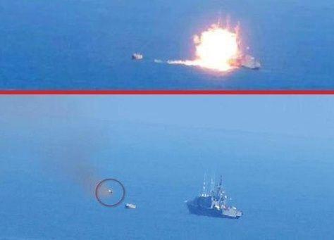 """""""داعش"""" يهاجم زورقاً للبحرية المصرية قبالة رفح"""