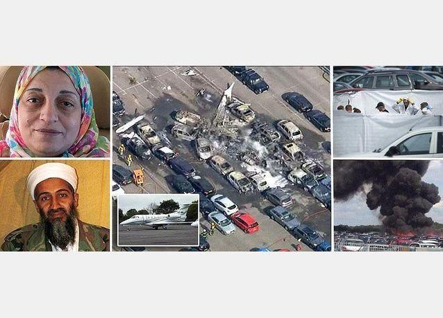 شقيقة أسامة، ثالث ضحية لاسرة أسامة بن لادن بتحطم طائرة