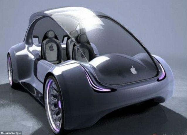 """بالصور: كيف سيكون شكل سيارة iCar من شركة """"أبل"""""""