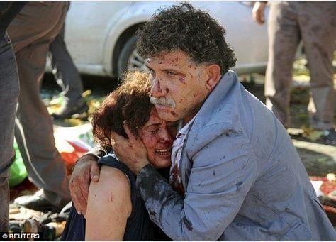 30 قتيلا و126 مصابا في هجوم أنقرة