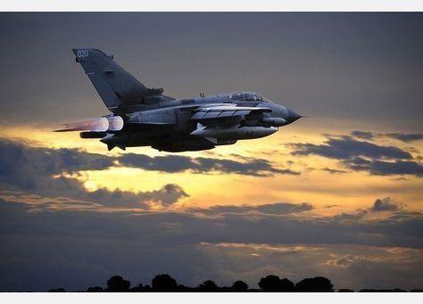 بريطانيا تشن أولى ضرباتها الجوية في سوريا