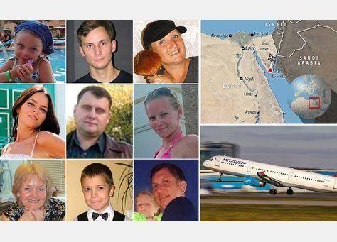 تنظيم داعش يتبنى إسقاط الطائرة الروسية في سيناء
