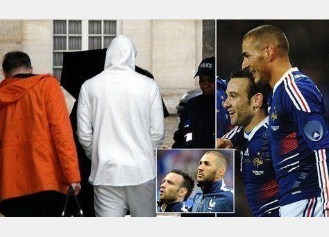 الشرطة الفرنسية تستجوب لاعب ريال مدريد كريم بنزيمة في تحقيق بشأن شريط جنسي