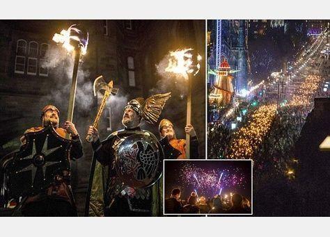 بالصور: انطلاق احتفالات رأس السنة من اسكتلندا وسماء دبي تتوهج الليلة احتفاءً بـ 2016