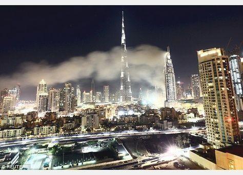 أولى الصور من داخل فندق العنوان في دبي بعد الحريق